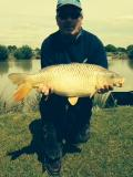 Martins 14lb Carp, Weeley Pred Lake, May15.JPG